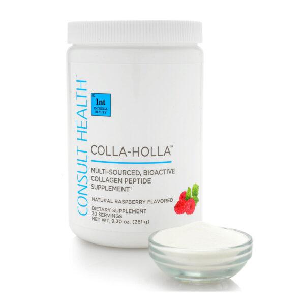 Consult Beaute Colla-Holla Bone Broth Collagen Peptide Raspberry