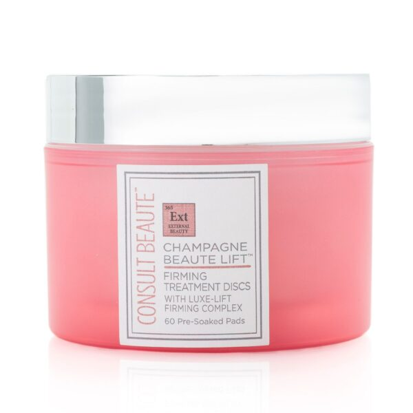 Champagne Beaute Lift Firming Treatment Discs with Luxe-Lift Firming Complex