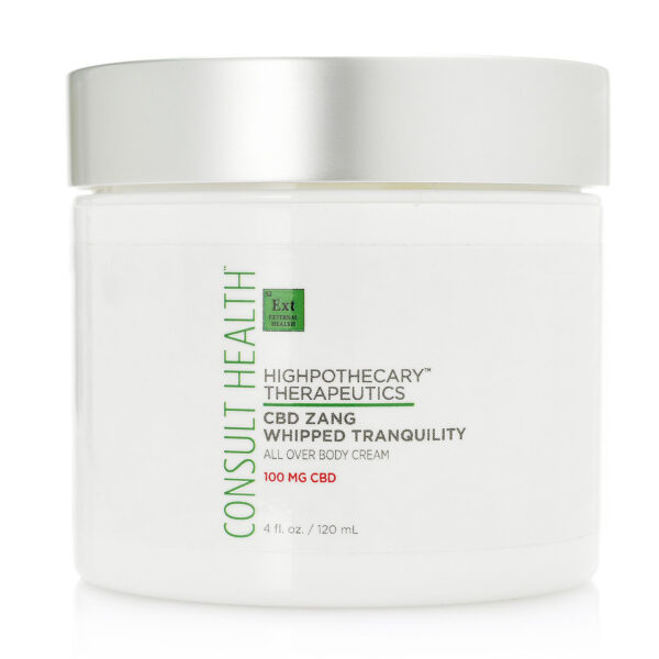 Consult Health HIGHpothecary Therapeutics CBD Zang Whipped Tranquility - All over body cream