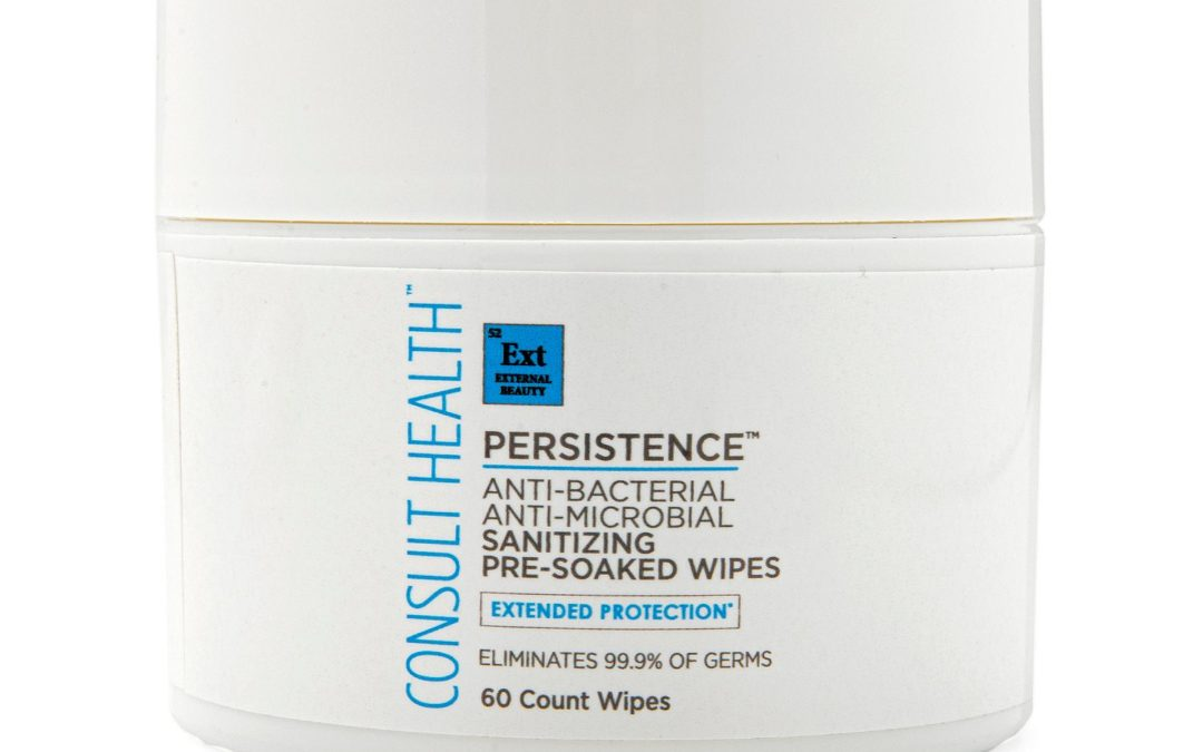 Persistence Extended Protection Sanitary Large Wipes