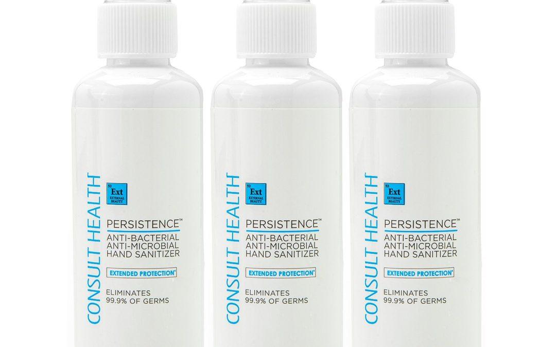 Persistence Hand Sanitizer 3.3 oz Trio