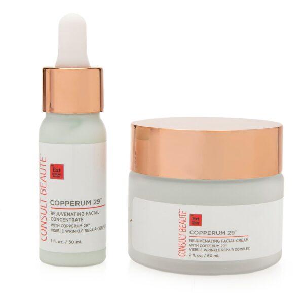 Copperum 29 Rejuvenating Concentrate and Cream duo