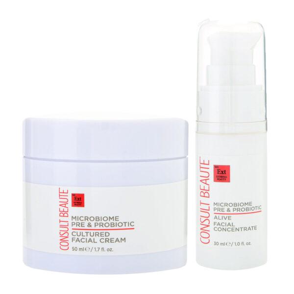Microbiome Pre-Probiotic Facial Cream Concentrate DUO